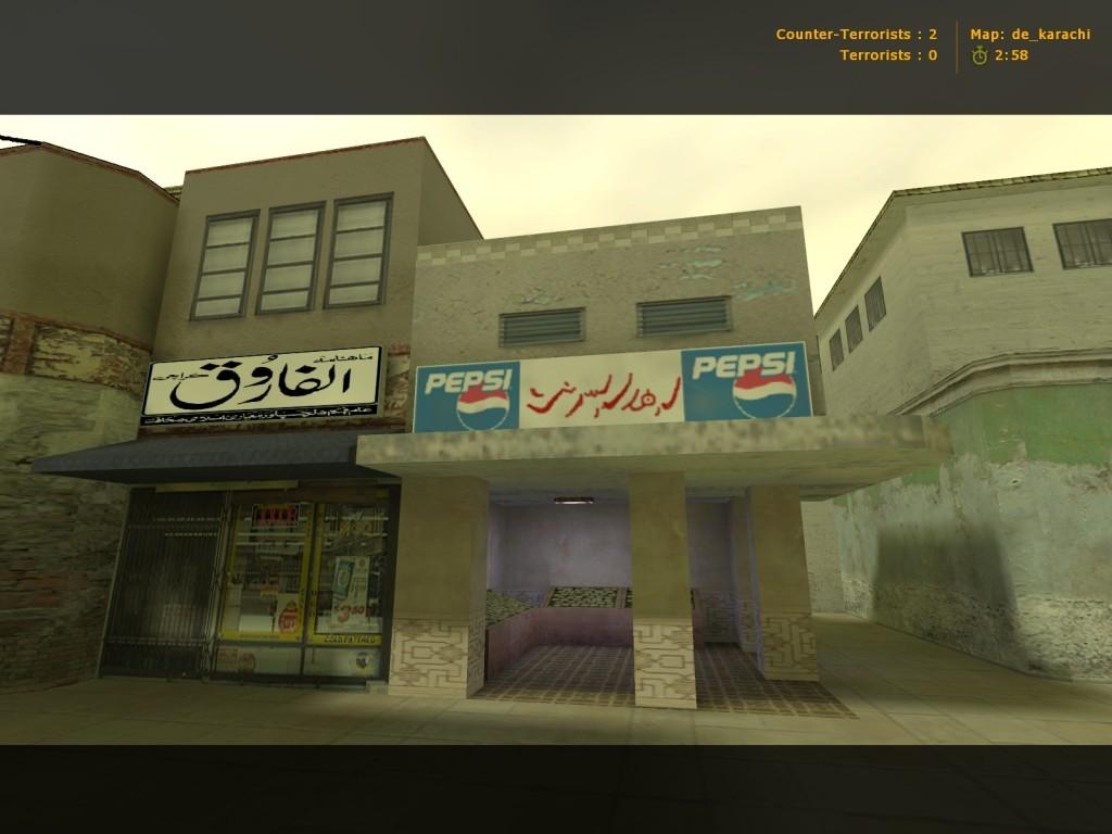 Download map de_karachi (Counter-Strike 1 6), files and