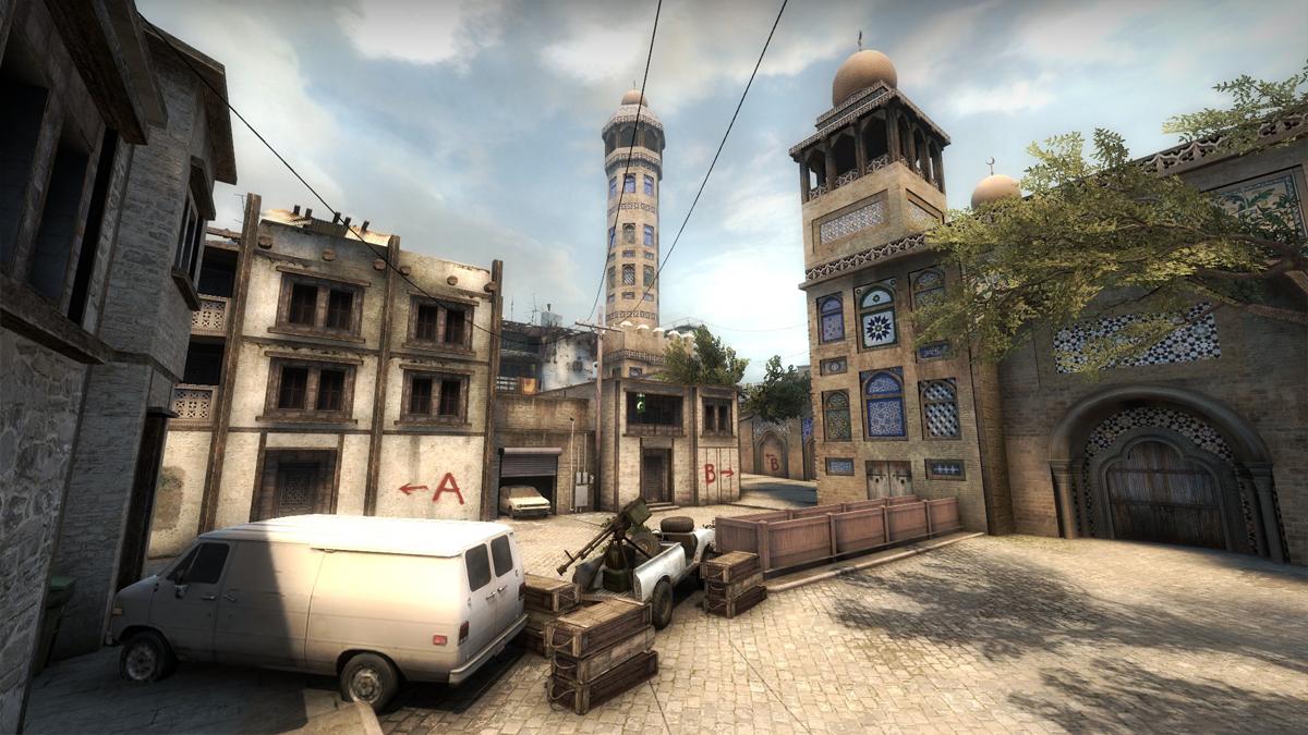 Download map bazaar (Counter-Strike GO), files and screenshots